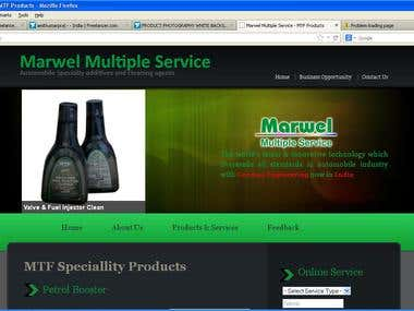 Marwel.in Website