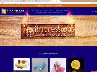 website banner / contest winner