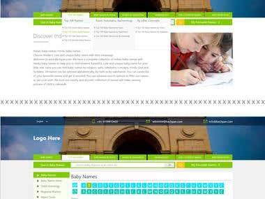 UI for an Indian website