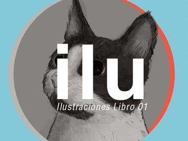 """Ilustracion Libro 01 """"Cat"""""""