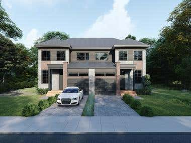 Render Exterior Hause