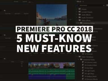 5 Must-Know New Features In Premiere Pro CC 2018
