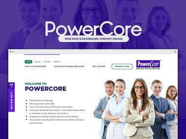PowerCore GUI Design
