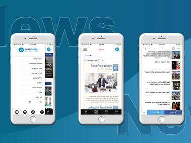 Native IOS News App