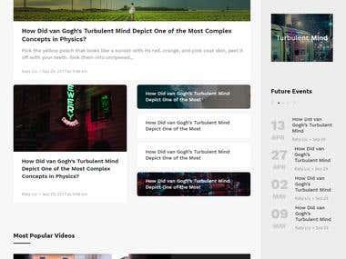 Avision Blog Website
