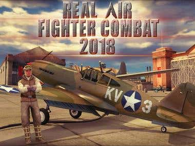 Real Air Fighter Combat 2018