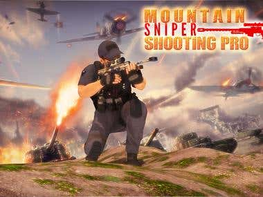 Mountain Sniper Shooting Pro– Sniper Shooting Wars