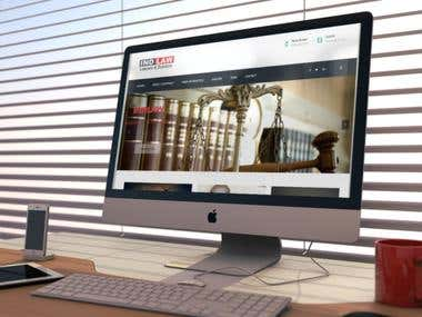 Develop a Website for legal Firm