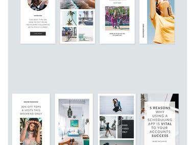 Instagram Stories & Posts