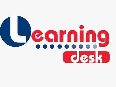 Logo Designing For Learning Desk