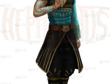 Thendawin male Character