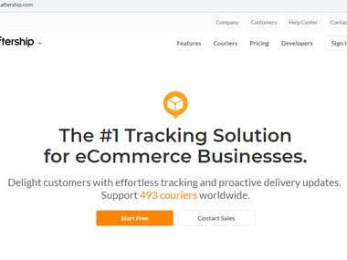live courier tracking website