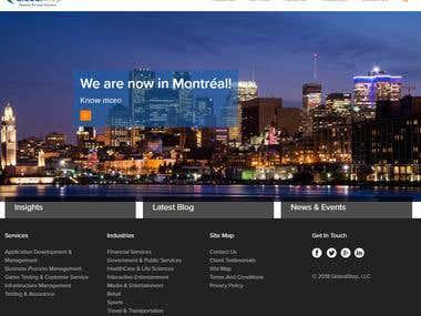 Information based website in wordpress
