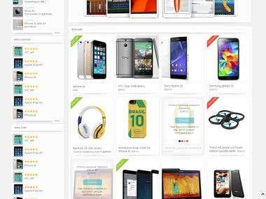 Multi language wordpress Shopping site