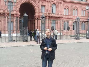 La Casa Rosada (Palacio de Gobirno) (Buenos Aires-Argentina)