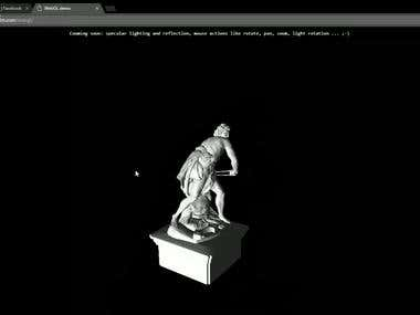 WEBGL demo