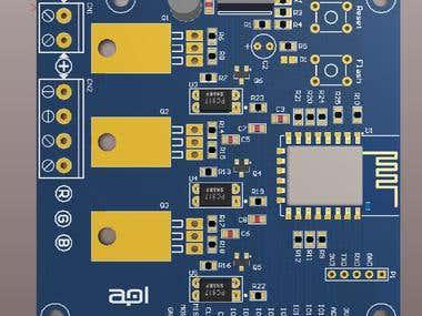 Wi-fi RGB LED controller