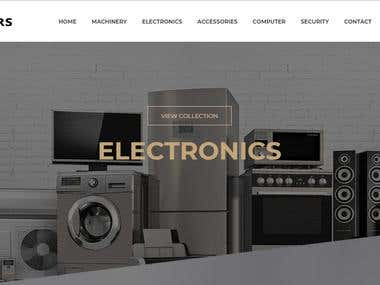 Tools Shopping Website