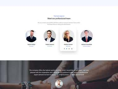 Business Company Website