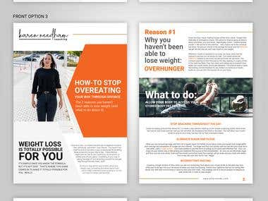 Brochure Design fr a Life Coach