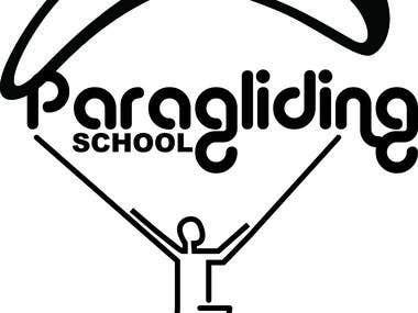 paragliding school logo