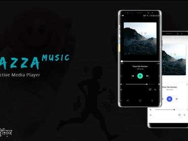Mazza Music Player and Game Android Application