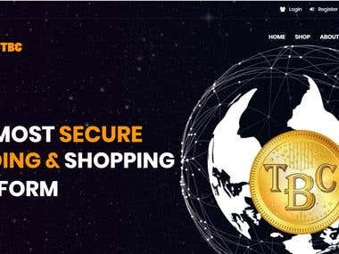 TBC to BTC exchange/shopping portal