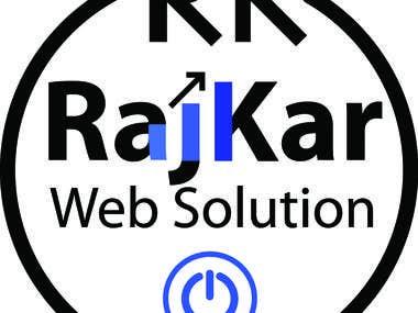 rajkar web solution logo design contest
