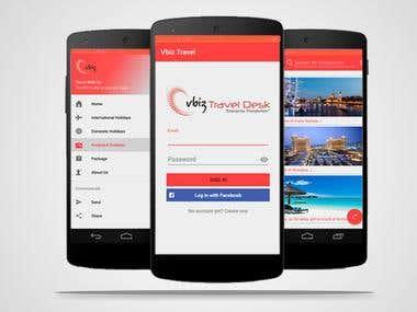 Vbiz Travel Application