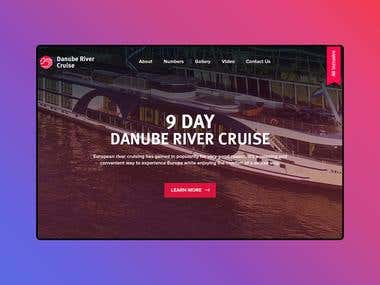 Web Design | Danube River Cruise