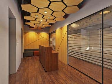 Proposed Office Design for Clover Bangladesh