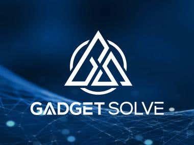 Facebook cover design for brand 'Gadget Solve'
