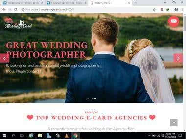 E-Wedding Card & Digital Wedding Card