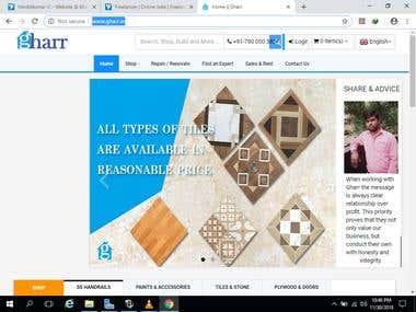 E-commerical Real Estate Web site
