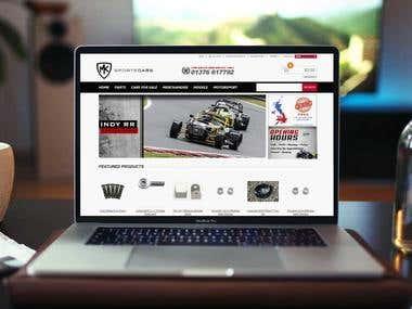 Magento Website