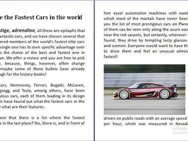 Car Article