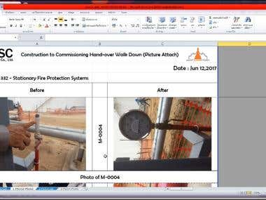 Web application for QC RFI and Punch list Tracking