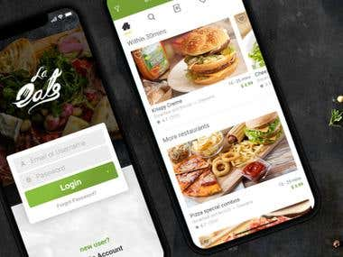Food Delivery Android App