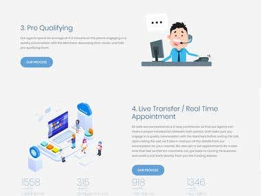 Landing Page WordPress - Marketing Service