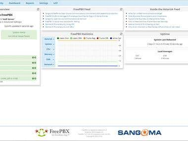 FreePBX Droplet Installed and configured