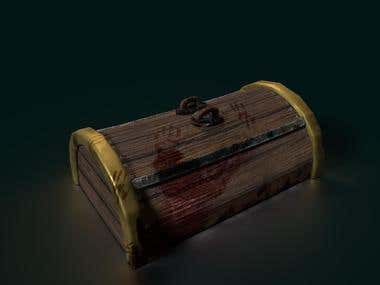 Blody chest, games, unity