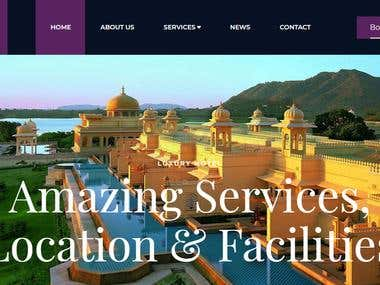 Beautiful Professional Hotel Website