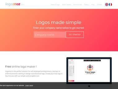 Create Online logo maker php script