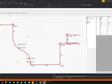 C# Smooth Arc Drawing with Tangent