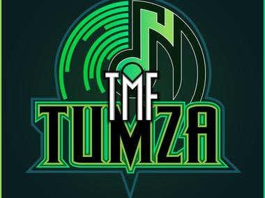 Youtube Dope Singer TMF TUMZA Logo