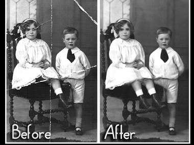 Vintage Photo Recovery & Editing