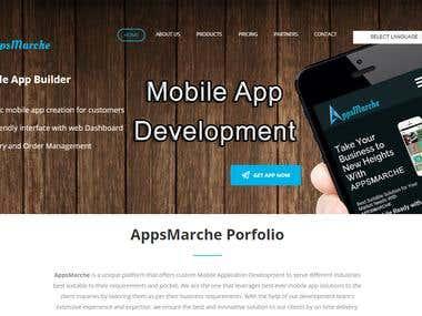 Apps Marche (Mobile App Builder)