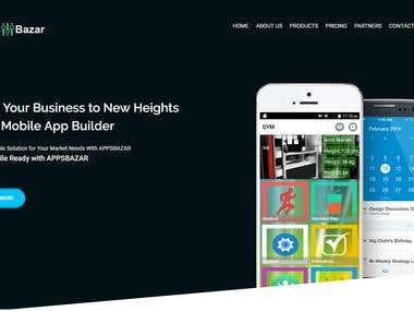 Apps Bazar (mobile app builder)