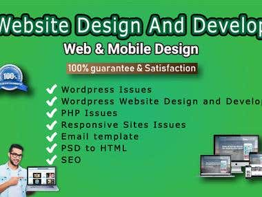 Website Design and Develop