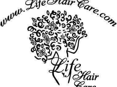 LIFE HAIR CARE (LOGO)